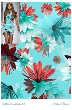 Estampa Digital 03 / Designer: Gabriella Laruccia // Projeto Final do Curso de Criação de Estampas Têxteis / Professor Daniel Moraes