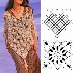 Crochet+Ponchos+for+Women | gorgeous poncho for women