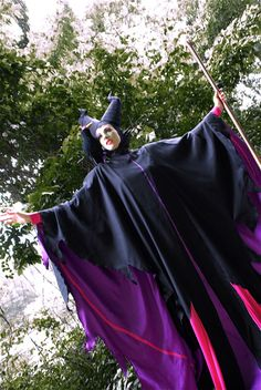 BERNINA Halloween 2011 - Maleficent