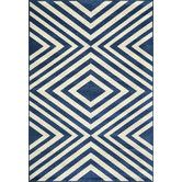 Found it at AllModern - Baja Navy & White Indoor/Outdoor Area Rug