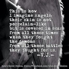 Thanking my guardian angels.