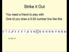 Use your addition and subtraction skills, combined with some strategic thinking, to beat your partner at this game. Primary Maths Games, Math Games, Math Addition, Addition And Subtraction, Library Lessons, New Class, You Draw, Numeracy