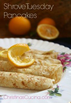 Traditional British Shrove Tuesday Pancakes Lemon juice and sugar as topping Best Peach Pie Recipe, Peach Pie Recipes, Crepe Recipes, Irish Recipes, Brunch Recipes, Breakfast Recipes, Dessert Recipes, English Recipes, Desserts