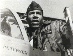 On Feb. 23, 1979, Frank E. Petersen Jr. became the first African American general in the United States Marine Corps, making history. Petersen was born March 2, 1932, in Topeka, Kansas, the second of four children. He was an intelligent, athletic youngster who played football in middle school. ...