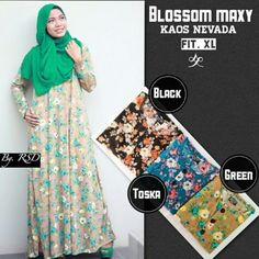 Maxi dress murah dan cantik montok