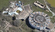 Abandoned Sea-Arama Marineworld, Galveston, Texas, USA