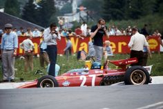 Jacky Ickx (Ferrari) Grand Prix de Belgique - Spa Francorchamps 1970 - Formula 1 HIGH RES photos (Old and New) Facebook (2)