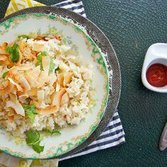Coconut Crab Rice