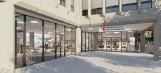 BLKB Kantonalbank Liestal 2017, Filialkonzept   MACH ARCHITEKTUR GMBH Finance, Concept, Architecture, Economics