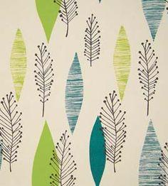 love the simple shapes 1950s Wallpaper, Fabric Wallpaper, Pattern Wallpaper, Leaf Prints, Wall Prints, Wall Fabric, Mid Century Decor, Japanese Design, Mid Century Modern Design