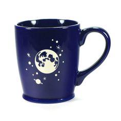 Moon and Stars Mug--Navy