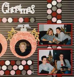 Me and My Cricut | Christmas Scrapbook Album 3 | http://meandmycricut.com