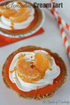 Clementine Cream Tar