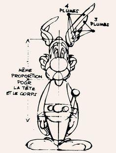 Como dibujar asterix