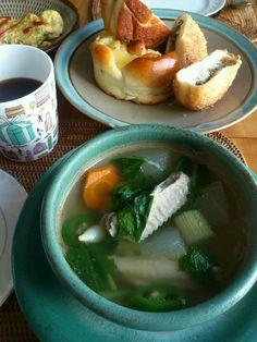 蕪や冬瓜の旬のものスープ