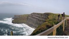 Cliff of mother, Ireland