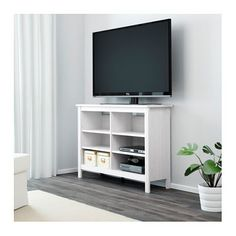 IKEA BRUSALI TV bench Adjustable shelves; adapt space between shelves according to your needs.