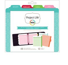 Becky Higgins - Project Life - 6 x 8 Planner - Inserts And Dividers - On The Go at Scrapbook.com