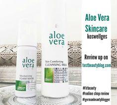Aloe vera Pflege für jeden #foammask #koswellges #lrbeauty #skincare #cleansingmilk