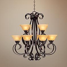 San Dimas Collection Twelve Light Chandelier
