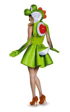 Amazon.com: Disguise Women's Yoshi Female Costume: Clothing