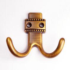 Wall Hooks / Wall Hook Antique Brass / Hat &Coat Hangers / Coat Rack Hooks…