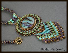 Bead Embroidered by Susan Pierle