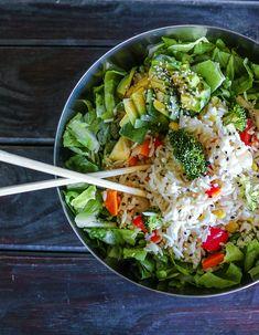 ((This diet is heaven. Plant based 4 life! Fit girl: Loni Jane via Bonberi))
