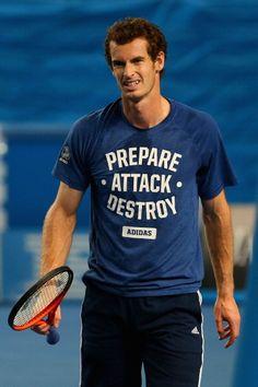 Ok then Andy #Murray. #ausopen #tennis