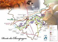 L'aisne. producteur de champagne - Au fil de l'Aisne