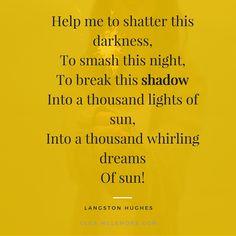 Guest Poet: Langston Hughes