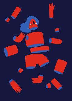 cecile gariepy - illustrations - work