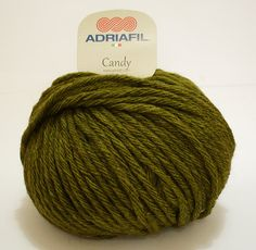 49 verde oliva 50 G Lana creativo lana Grossa-Cotone-FB