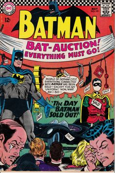 Batman 1940 191 May 1967 Issue  DC Comics  Grade VG by ViewObscura, $20.00