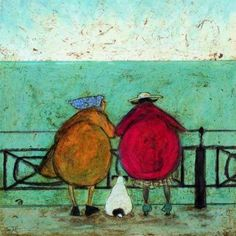 sam toft. I love their big, round behinds--puppy included!
