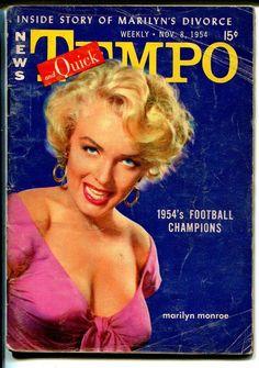 Quick 11/8/1954-Marilyn Monroe-Mara Corday-Mamie Van Doren-Judy Garland-VG | eBay