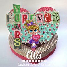 Latinas Arts and Crafts: Crop de San Valentin