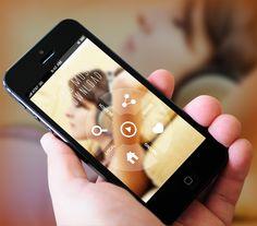 New Music App by Amit Rai, via Behance