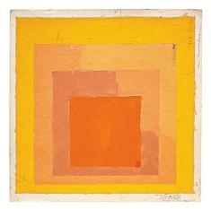 Josef Albers (né en 1888 et décédé en 1976). Artiste enseigna...