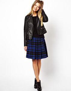 10 faldas de estampado de cuadros escoceses (alternativas a la de Zara)