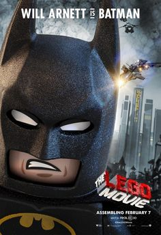 The LEGO Movie Poster: Will Arnett is Batman