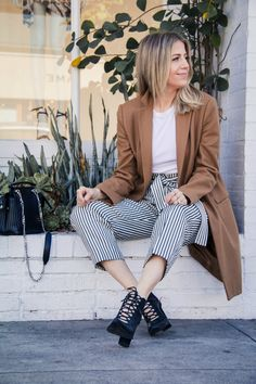 fb539e8a4c Business casual outfit Lindsay Albanese