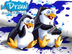 uDraw Penguins of Madagascar by UncleLaurence.deviantart.com on @deviantART