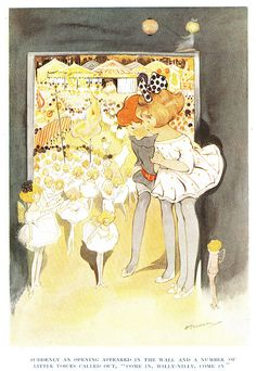 Hilda Cowham illustration uploaded by ElfGoblin, via Flickr