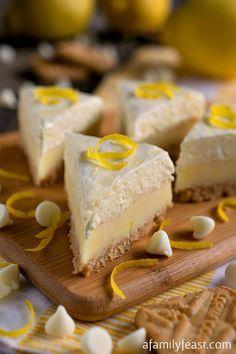 "Lemon Meringue Pie Fudge & Dessert Mash-Ups Cookbook Giveaway - A delicious and perfectly sweet lemon fudge.  Plus - your chance to win a copy of ""Dessert Mash-Ups"" cookbook!"