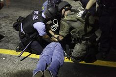 Police brutality started and escalated this controversy. So why are we spending so much energy warning protesters?