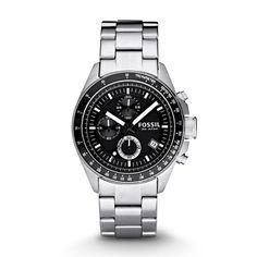 Decker Chronograph Stainless Steel Watch