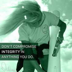 """""""Don't compromise integrity in anything you do."""" - Debbie Disbrow   #LinkedIn #horsefence #rammfence #quote #horses #equestrian #integrity #respect #thursdaythoughts #motivation"""