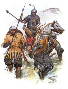 """Ottoman Warriors - the Roman nemesis. Manzikert introduced the Turks permanently to Anatolia (the sultanate of """"Rum"""", or """"Rome""""), but the Seljuks did not last long as a threat to Byzantium. However the coincidence of the rise of the Ottoman Turks with the temporary loss of Constantinople to the Latins would prove fatal to the diminishing empire."""