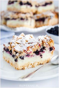 Blueberry Cake, Wonderful Recipe, Coffee Cake, Cake Cookies, Baked Goods, Cake Recipes, Sweet Treats, Cheesecake, Food Porn